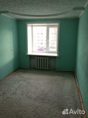 Продается четырехкомнатная квартира за 3 000 000 рублей. Югорск, Ханты-Мансийский автономный округ, Студенческая улица, 20.