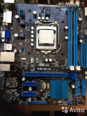 Комплект Мат.плата 1155 + Core i7-3770