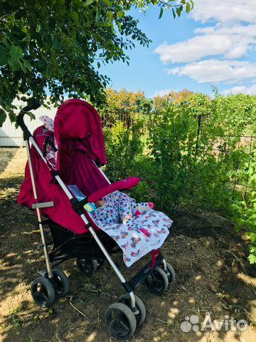 Прогулочная коляска Jetem Paris розовая