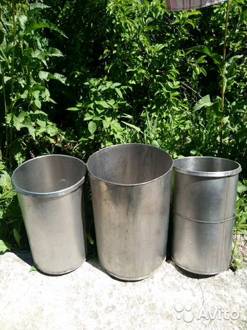 Tanks stainless steel