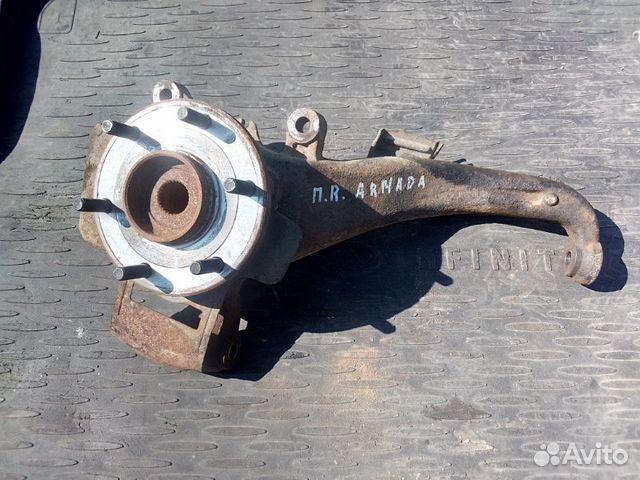 89026196331 Кулак поворотный передний правый Nissan Armada