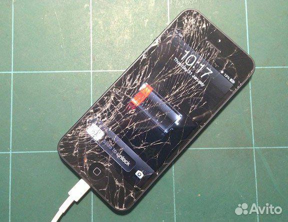 ремонт стекло на айфон 5s