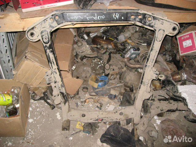 Балка подмоторная Renault Sandero Рено Сандеро 2009- ориг. номер 8200745454