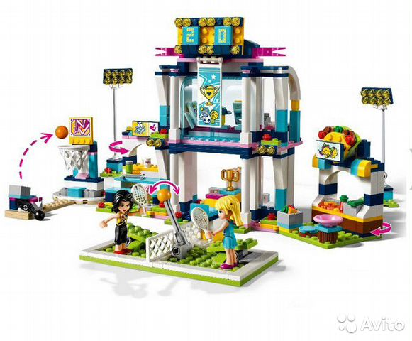 84942303606 Лего 10857 Спортивная арена для Стефани