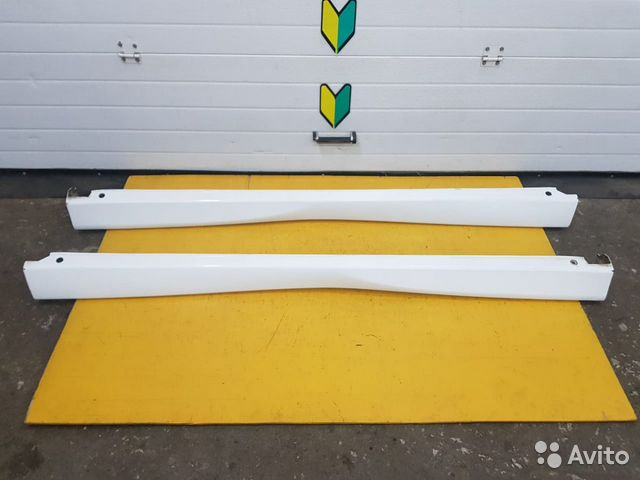 89625003353 Пороги STI комплект Subaru Forester, SF5, EJ20