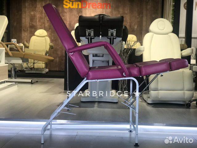 Кресло педикюрное цв. розовый 89282266618 купить 3