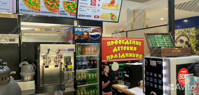 Пиццерия - кафе известной сети в крупном трк купить 3