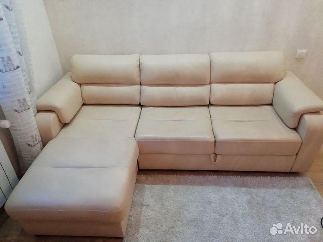 Диван угловой кожаный 89271200278 купить 1