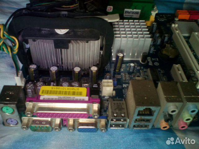 Материнская плата с CPU и озу 89024904736 купить 3
