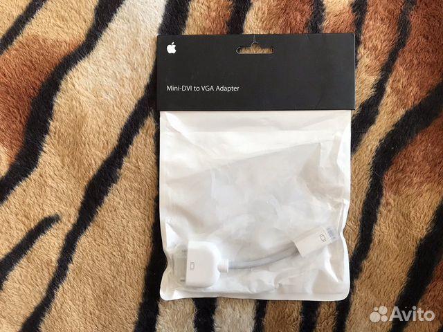 Apple Mini-DVI to VGA Adapter (адаптер переходник)