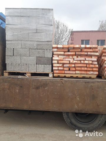 Кирпич М-100, Грас 60*30*20, керамзитный блок 4-х 89173051701 купить 1