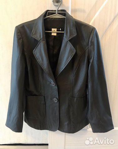 Новый кожа пиджак куртка  89097870553 купить 1