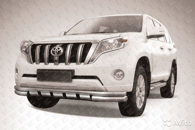 Обвес для Toyota Land Cruiser Prado 150 2014— фотография №1