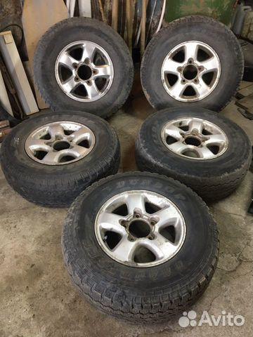 Продам 275/70/16 Dunlop + Maxtrek (3+2) на литье купить 1
