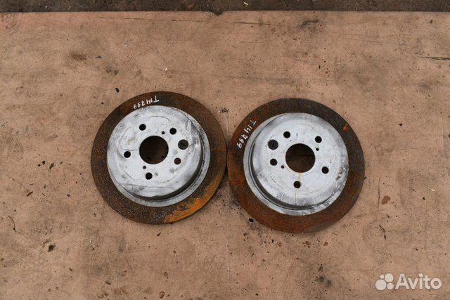 89307139175  Диски тормозные задние Lexus Gs300 3 поколение
