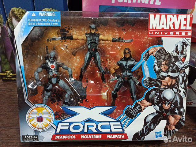 Набор фигурок Marvel Universe X-Force 3.75 (Warpat 89128847259 купить 1