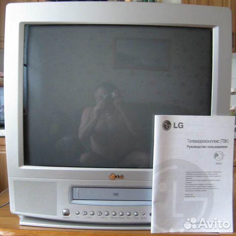 Моноблок LG:телевизор + видеомагнитофон + кассеты 89630766025 купить 1
