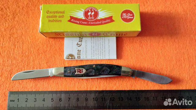 Нож Kissing Crane Trapper Since 1834  купить 6