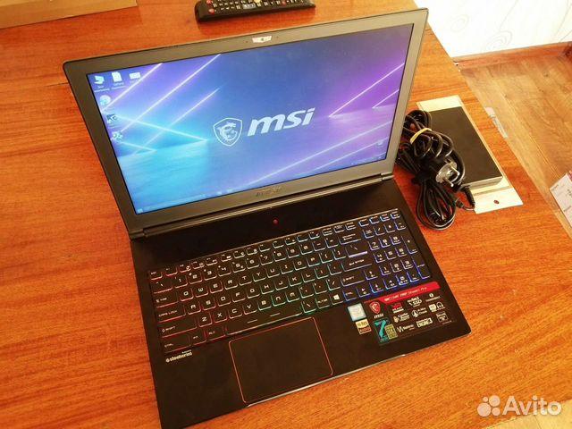 GS63VR 7RF - i7 7700,GTX 1060,16GB, M.2+HDD  89608550441 купить 7