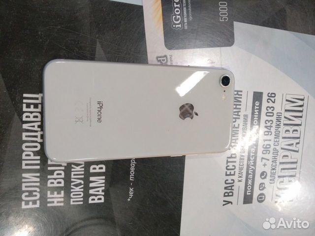 iPhone 8 Silver 256GB imei356759084137273 P07  89677777201 купить 3