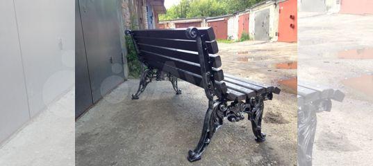 скамейки лавки из чугуна и алюминия маф
