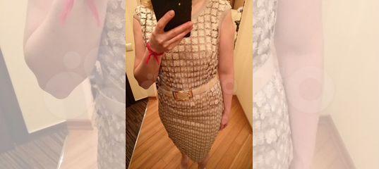 Платье новое caterina leman