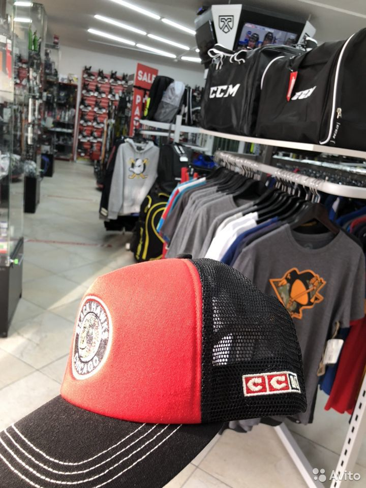 Бейсболка CCM vintage клуба NHL chicago  89136418851 купить 3