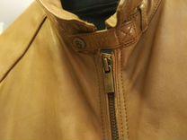 Кожаная куртка Massimo dutti — Одежда, обувь, аксессуары в Москве