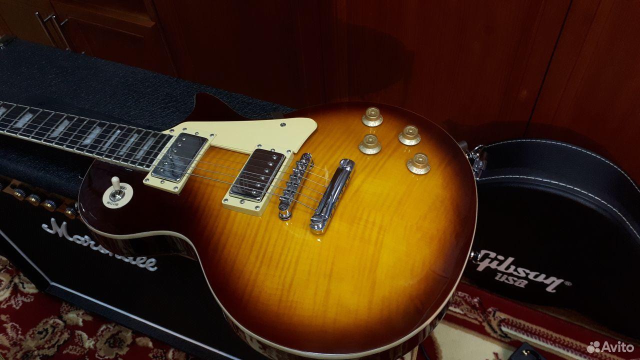 Gibson Les Paul standard 50s (копия)