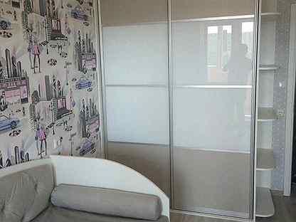 Двери с крашеным стеклом Lacobel шк-317