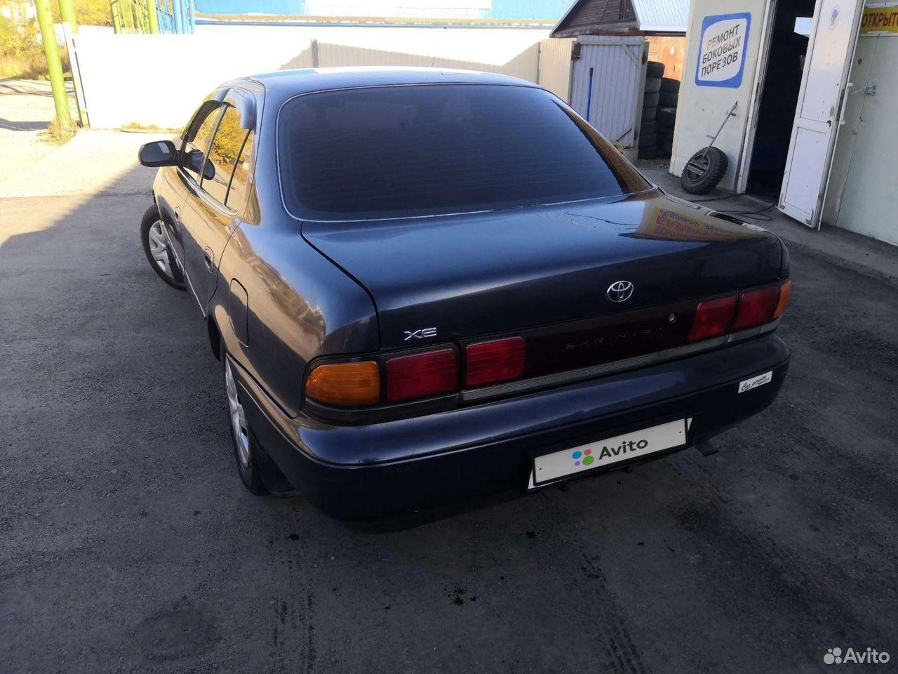 Toyota Sprinter, 1994  89147803069 купить 4