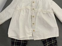 Брюки и рубашка Zara для девочки