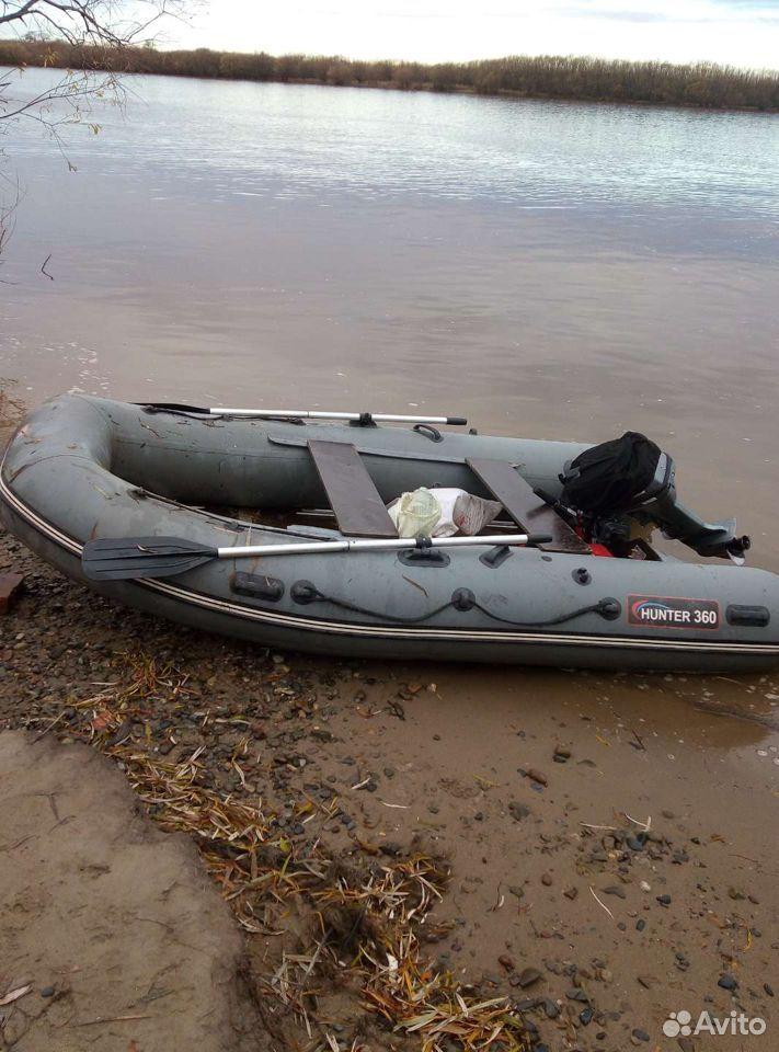 Лодка пвх хантер360