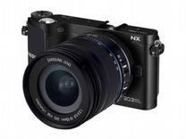 Цифровой фотоаппарат SAMSUNG NX 210 20.3 MP — Бытовая электроника в Геленджике