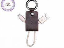 Оригинальный USB кабель UPM19 Micro коричневый