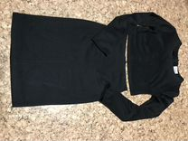 Очень красивый чёрный костюм. Укорочённый верх, юб — Одежда, обувь, аксессуары в Томске