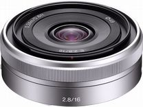 Объектив Sony E - mount 16mm F2.8