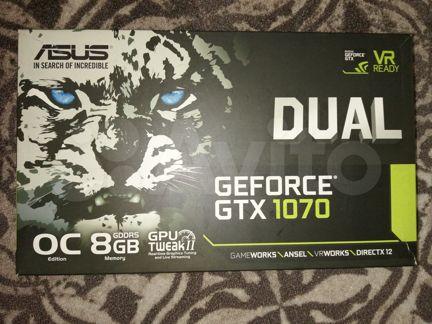 Игровая видеокарта Asus GTX 1070 8Gb - Техника - Объявления в Марксе