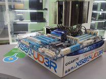 Превосходная 1366 X58A-UD3R + i7 920 + Кулер