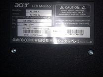 Монитор acer AL 1716 As