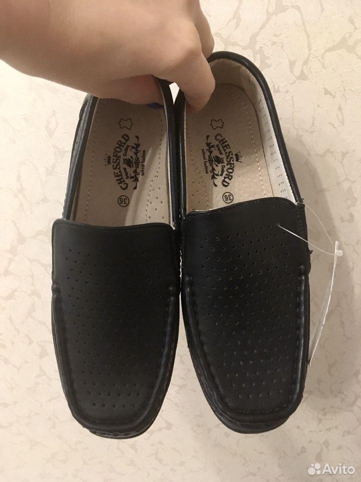 Мокасины (ботинки школьные) 36р, кеды