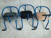 Детские сиденья на багажник (велокресло)