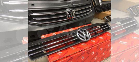 Решетка радиатора с эмблемой Volkswagen Polo Sedan купить в Санкт-Петербурге | Запчасти | Авито