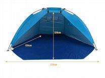 Палатка открытая (пляжная)