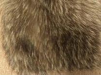 Шапка(мех:чернобурка с песцом)