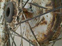 Мото колесо дкв- RT -125 ретро