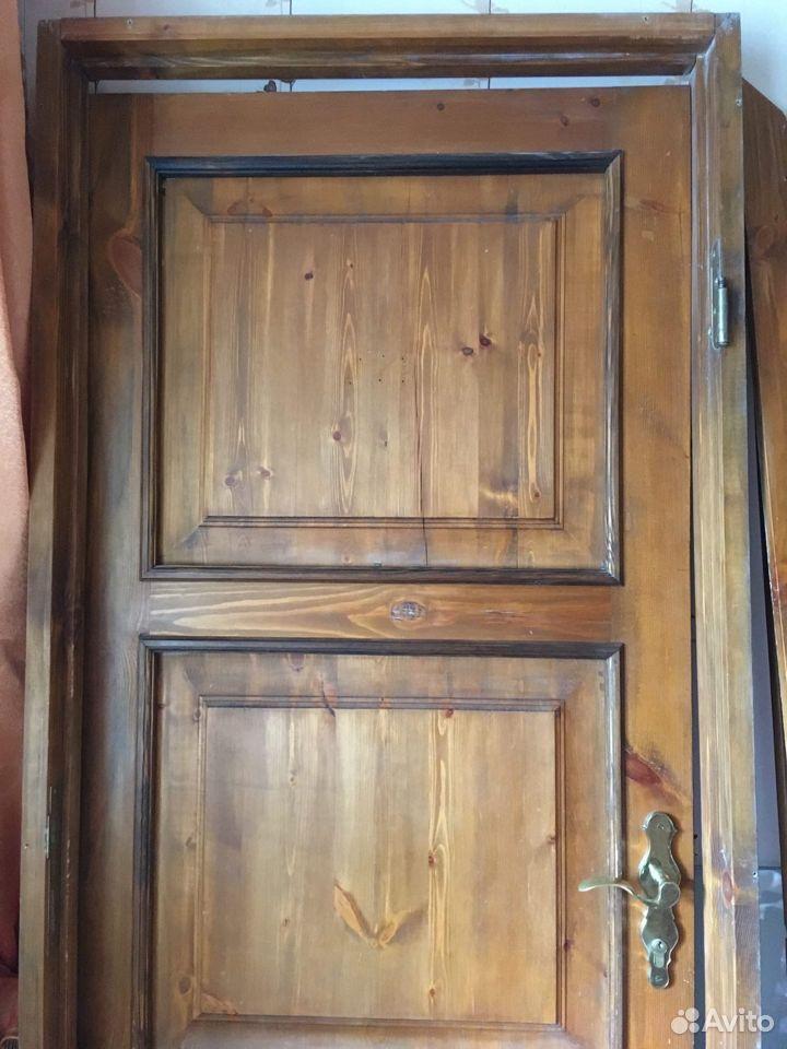 Дверь деревянная филенчатая мореная  89372752006 купить 4