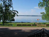 Турбаза на берегу озера