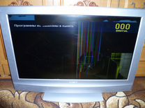 ЖК телевизор Sony KDL-32U2000. Разбит экран