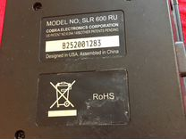 Радар детектор cobra SLR 600 RU